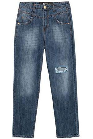 REVISE Women Trousers - BOTTOMWEAR - Denim trousers