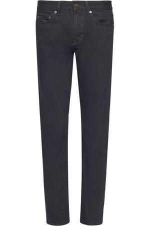 Saint Laurent Cotton Denim Jeans