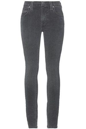 Nudie Jeans Women Trousers - BOTTOMWEAR - Denim trousers