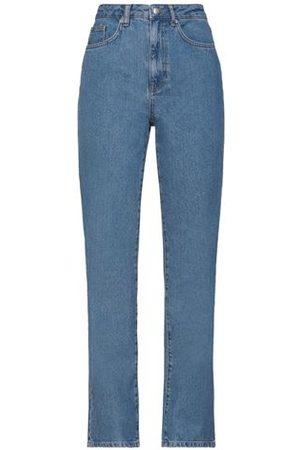 NA-KD Women Trousers - BOTTOMWEAR - Denim trousers