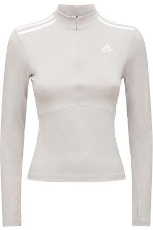 adidas Long Sleeve Zip-up Sweatshirt