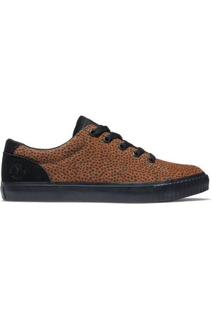 Timberland Skyla bay leather trainer for women in animalier print , size 3.5