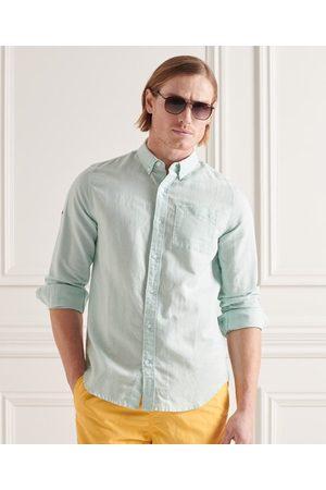 Superdry Cotton Linen Long Sleeved Shirt