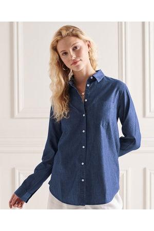 Superdry Classic Chambray Long Sleeve Shirt