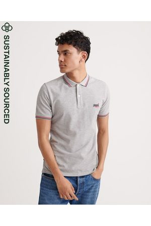 Superdry Organic Cotton Classic Micro Lite Tipped Polo