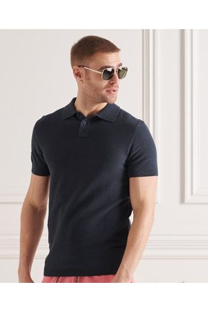 Superdry Fine Knit Polo Shirt