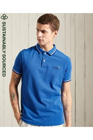 Superdry Organic Cotton Classic Poolside Pique Polo Shirt