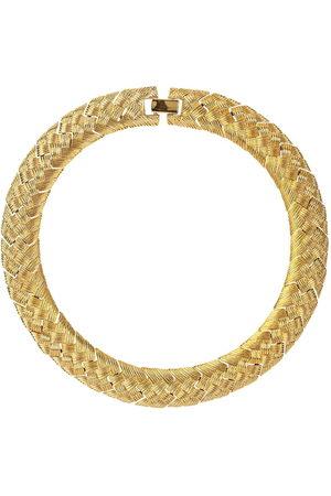 Susan Caplan Vintage Women Necklaces - 1980s Napier interwoven choker necklace