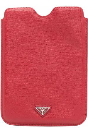 Prada Triangle-logo iPad case