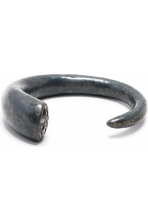 PARTS OF FOUR Horn mega pavé bracelet