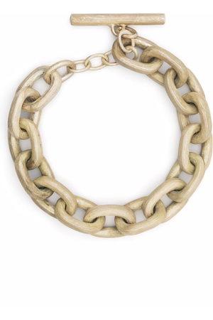 PARTS OF FOUR Toggle chain bracelet - Neutrals
