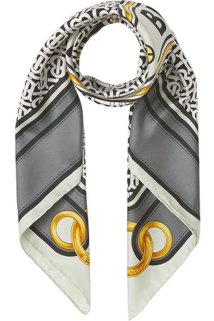 Burberry Scarves - Montage print square scarf