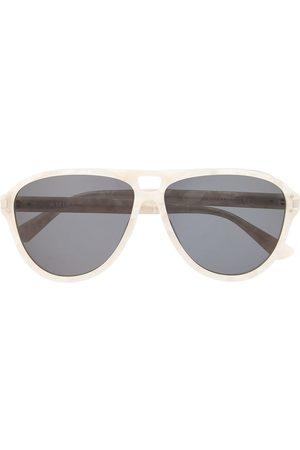 AMIRI Men Sunglasses - Aviator-frame tinted sunglasses