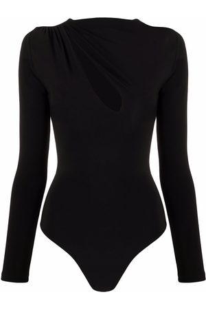 Alchemy Slash-neck bodysuit