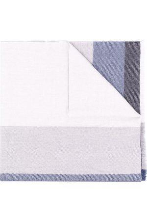 Brunello Cucinelli Colour-block knit scarf