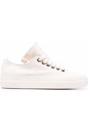 Uma Wang Raw-edge low-top sneakers - Neutrals