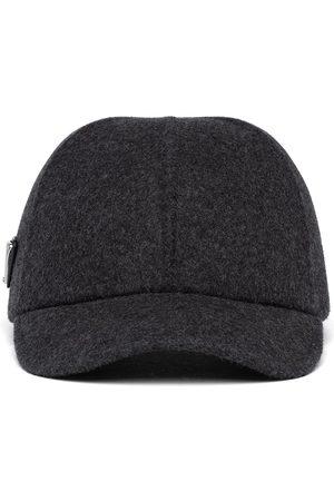 Prada Wool-felt baseball cap