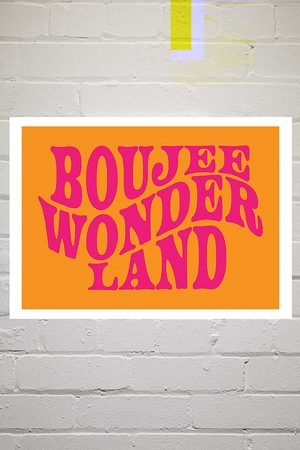 Moodstreet Boujee Wonderland Wall Art Print - Assorted 2 at Urban Outfitters