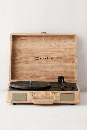 Crosley UO Exclusive Cruiser Wood-Effect Bluetooth Record Player - ALL at Urban Outfitters