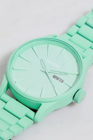Nixon Mint Sentry Stainless Steel Watch - ALL at Urban Outfitters
