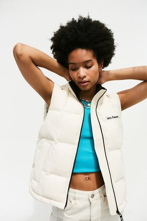 iets frans... Iets frans. Puffer Gilet - Beige S at Urban Outfitters