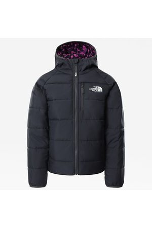 The North Face Girls' Printed Reversible Perrito Insulated Jacket