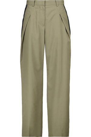 SACAI Suiting wool-blend pants