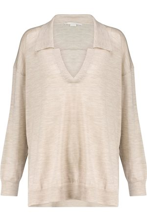 Stella McCartney Knitted wool polo
