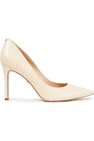 Sam Edelman Women Heels - Woman High Heel Pumps Cream Size 10