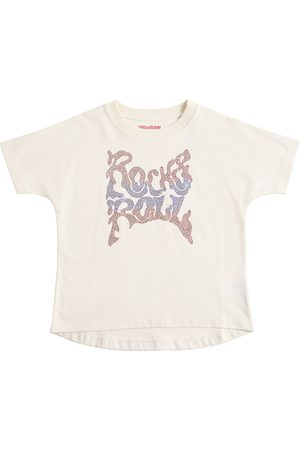 ZADIG&VOLTAIRE Girls T-shirts - Embellished Cotton Jersey T-shirt