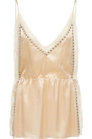MIU MIU Women Dresses - Silk Satin Mini Dress