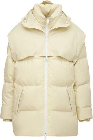 BOTTEGA VENETA Women Jackets - Frosted Poplin Down Jacket