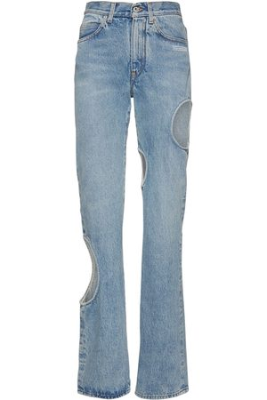 OFF-WHITE Meteor Cool Baggy Jeans