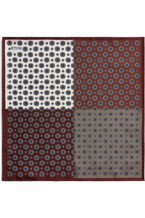Eton Silk Four-Tile Pocket Square