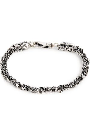 EMANUELE BICOCCHI Sterling Multi-Chain Braided Bracelet