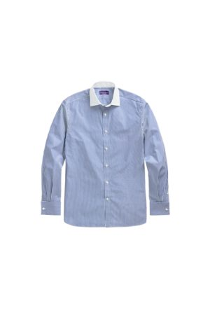 Ralph Lauren Bengal-Stripe French-Cuff Shirt