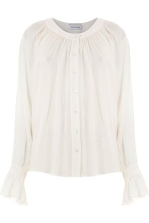 Olympiah Silk Punh Spinello blouse