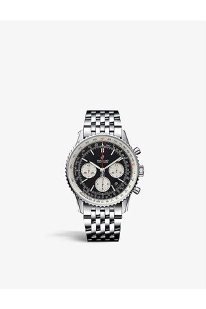 Breitling Men Watches - AB0121211B1A1 Navitimer 1 B01 Chronograph 43 stainless steel watch