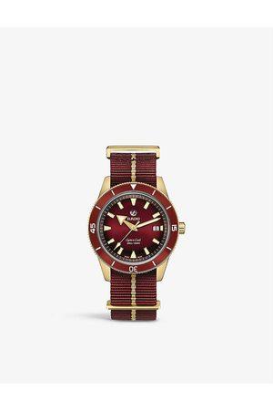 Rado Men Watches - R32504407 Captain Cook Automatic bronze and textile watch