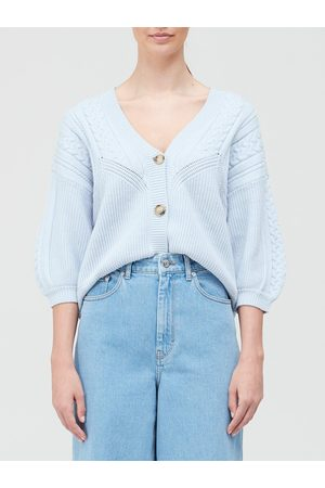 Gestuz Soley Cable Knit Cardigan