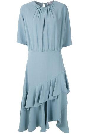 Olympiah Women Midi Dresses - Luyne ruffled midi dress