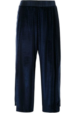 Olympiah Women Trousers - Cirque velour culottes
