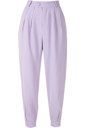 Olympiah Women Trousers - Luyne pleated trousers