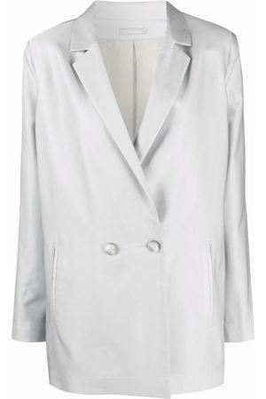 12 STOREEZ Boxy double-breasted jacket