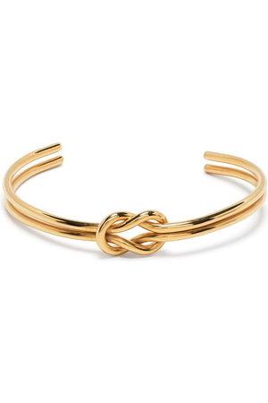 Petite Grand Women Bracelets - Loveknot double cuff