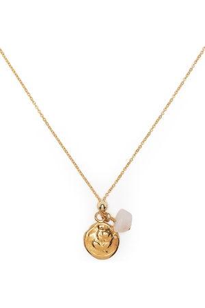 Petite Grand Rose pendant necklace