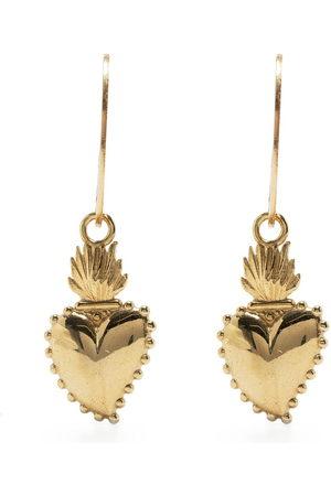 Petite Grand My Heart charm earrings