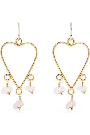 Petite Grand Women Necklaces - Lauren heart earrings