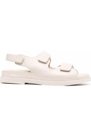 12 STOREEZ Touch-strap sandals - Neutrals