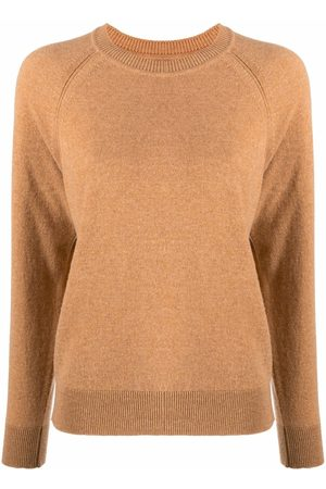 Barrie Long-sleeved cashmere pullover - Neutrals